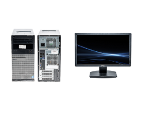 "Dell OptiPlex 3020 i3 MT + Dell 20"" Monitor - B"